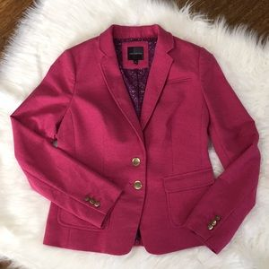 The Limited Pink Wool Blazer